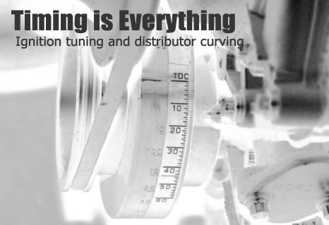 FORDMUSCLE webmagazine: Timing is Everything - Distributor Curving