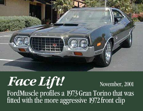 1973 Torino grill swap  - FordMuscle