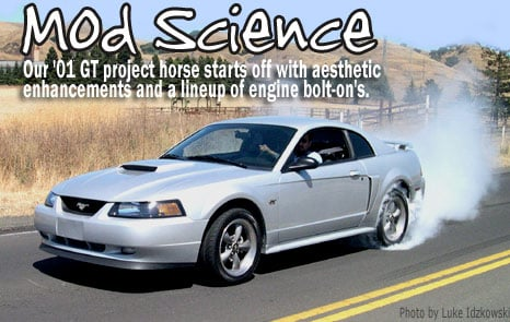 Mod Science 2001 GT Mustang Project