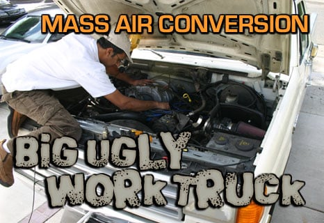 Ford F-150 Mass Air Conversion - FordMuscle