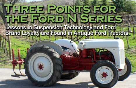 Ford 8N Tractor - FordMuscle com