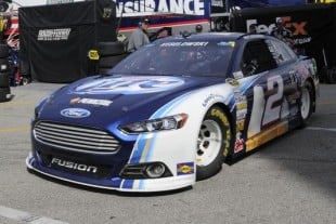 Keselowski's Fourth Place Effort Paces Three Fords At Daytona