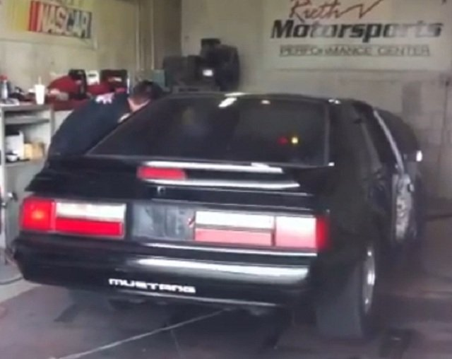 Video: Turbo Fox-Body Makes 450 HP On Mostly Stock Motor