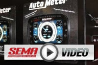 SEMA 2012: Auto Meter's New LCD Gauge Display Technology