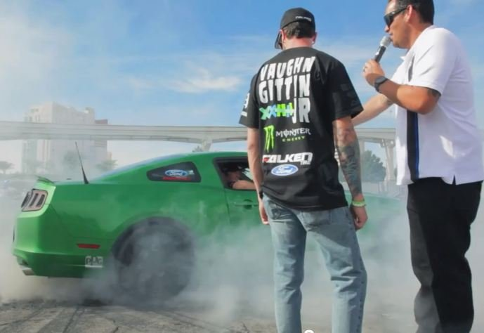 Video: Drift Kings Deliver Falken Mustang To Contest Winner