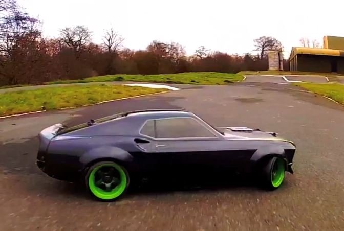 Video: Vaughn Gittin Jr. Teams Up With HPI For RTR Mustang RC