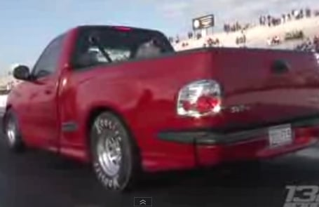 Video: A Nine-Second 1,200 HP Ford Lighting Pickup