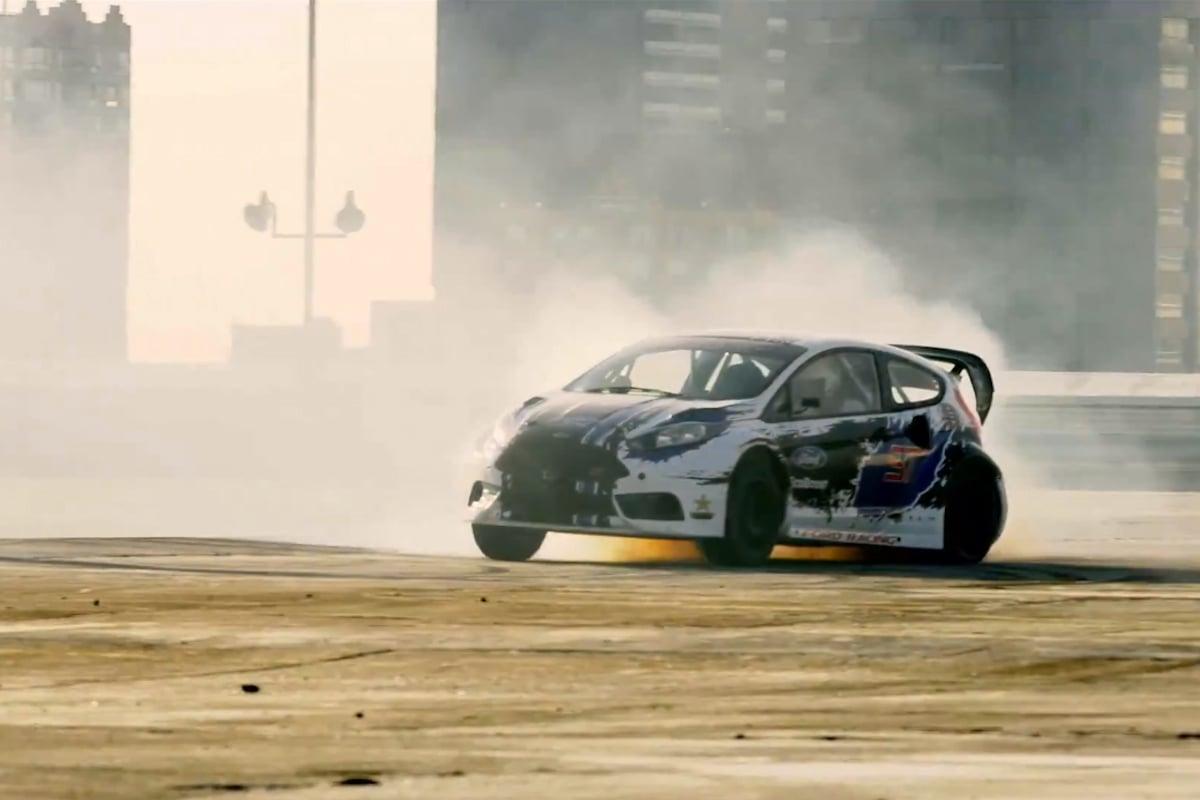 Video: Fiesta Rally Stars in 2014 Detroit X-Games Bid