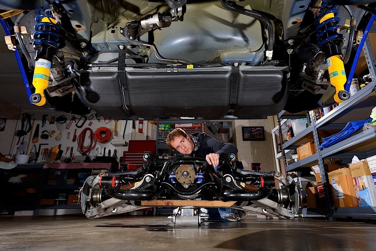 Mustang Independent Rear Suspension Stangtv