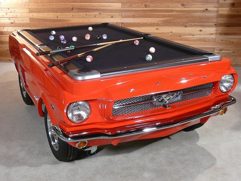 Officially Licensed Mustang Pool Tables For Your Mancave StangTV - Clear pool table