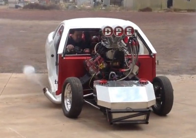 The Top Fuel Doorslammer From Down Under: Excess At It's ...
