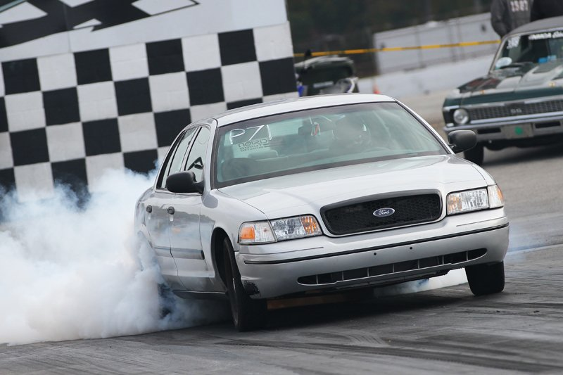 Video Turbocharged Ford Crown Vic Quot Sleeper Quot Runs 9 S