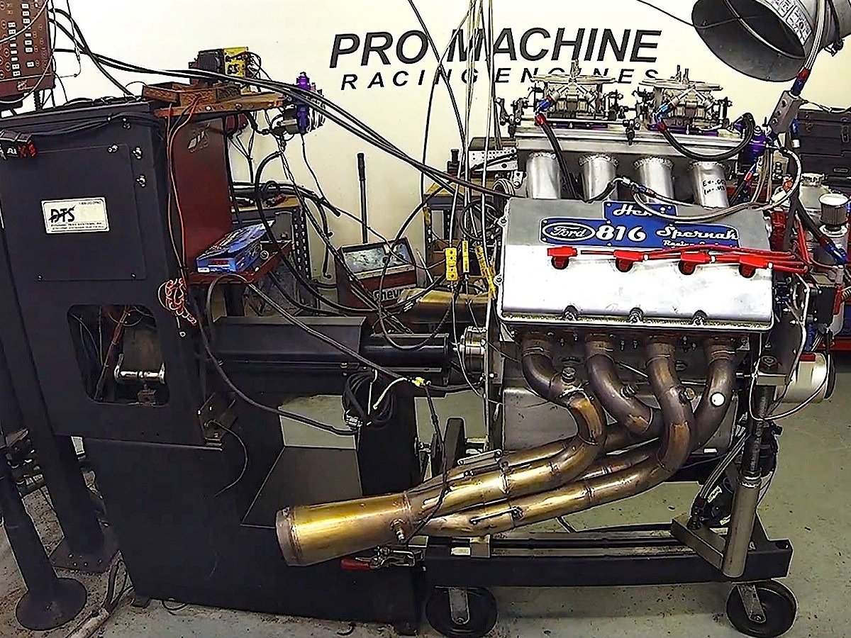 Video Watch A Former Ford Pro Stock Mountain Motor Rattle