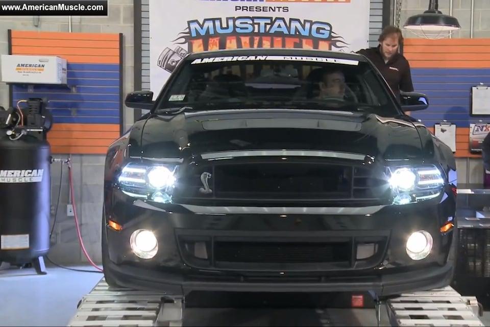 American Muscle Mustang Mayhem 2014 GT500 vs Coyote