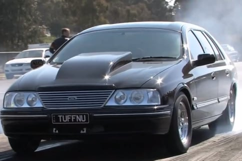 Video: All Motor Big Body Ford Cranks Off the 10's At-Will