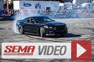 SEMA 2014: Vaughn Gittin Jr. and RTR Team Up With American Muscle