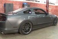 Video: CJ Pony Parts Installs Air Lift Suspension On 2013 GT500