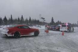 2015 Ford Mustang EcoBoost Snow and Winter Driving Review