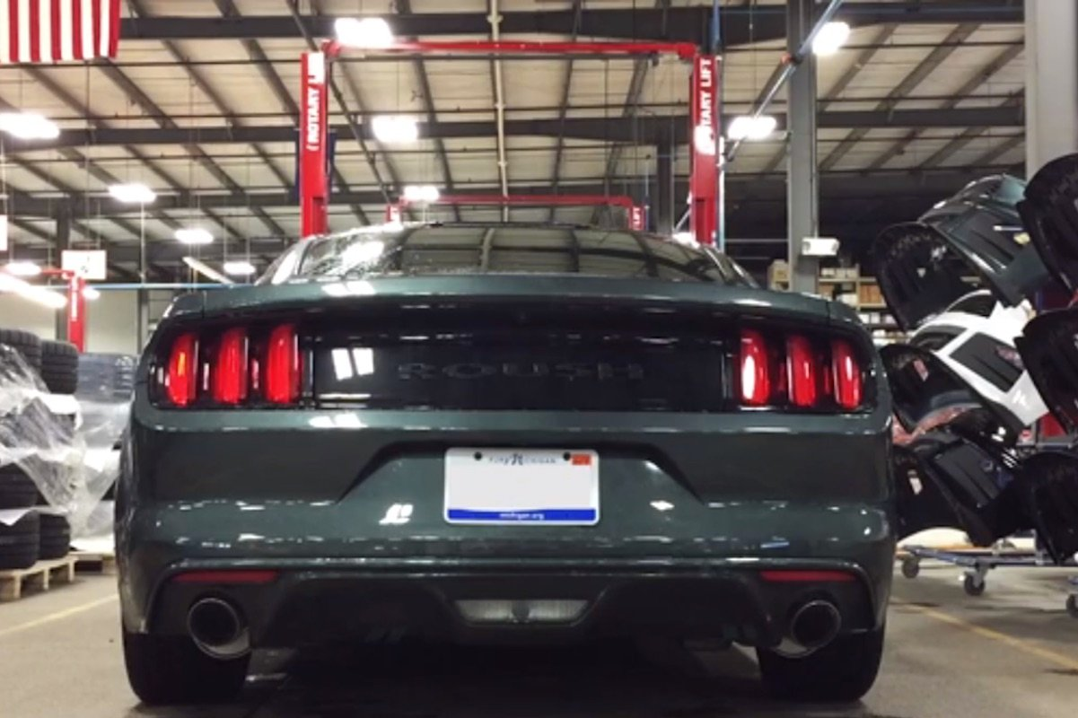 Video: 2015 Mustang EcoBoost Gets Aggressive Tone With ROUSH Exhaust