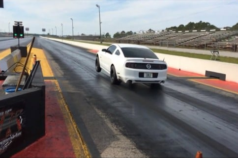Snow WhiTTe Runs 8.68 with Stock Engine and Stock Transmission