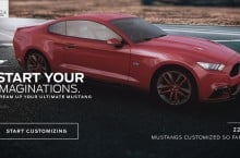 Mustang Customizer App Goes 3D, Gets New Features