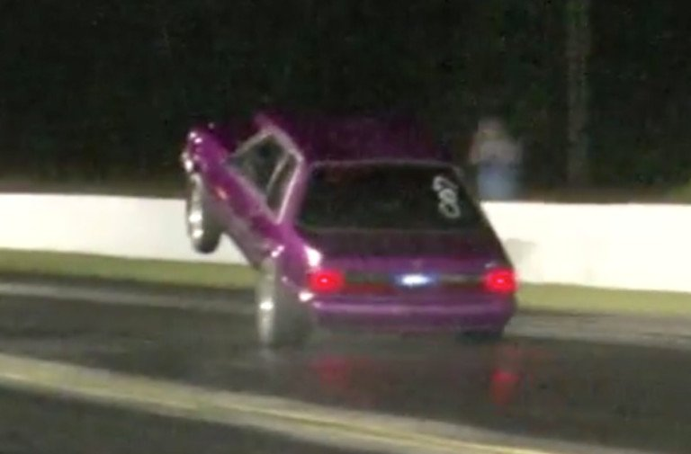 Video: Sticking The Wheelstand, Not So Much The Landing