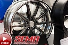 SEMA 2015: CCW's Latest Offerings For Pro Touring And Luxury Market