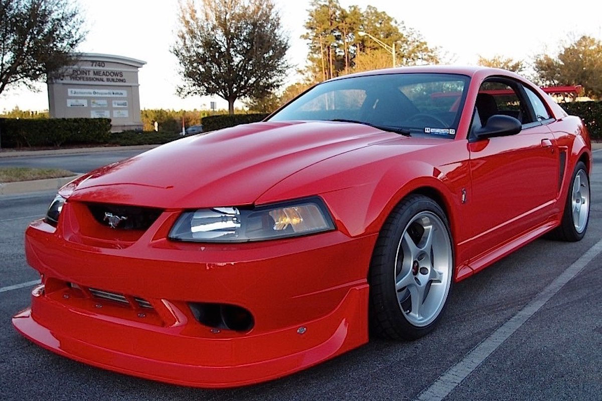 Would You Buy This Modified 2000 Svt Cobra R