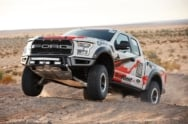 No Matter The Terrain, The 2017 Ford F-150 Raptor Delivers