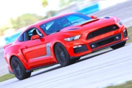 Blasting Around Sebring In The 670HP Roush Stage 3