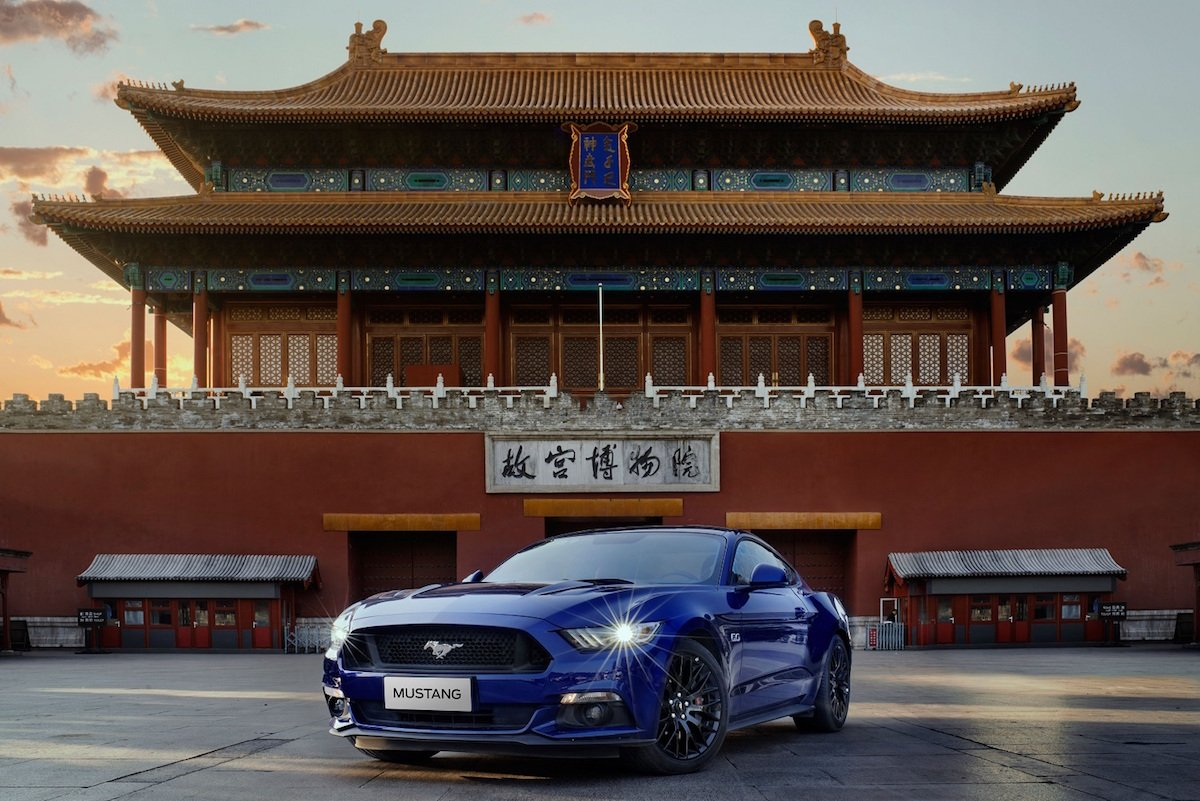 China's Best-Selling Sports Car—The Mustang—Learns The Language