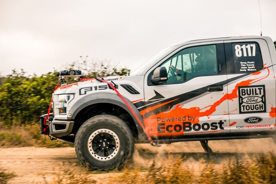 Ride Along Virtually As The 2017 F-150 Raptor Takes On The Baja 1000