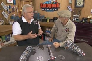 Flaming River Talks Coilovers With Dennis Gage of My Classic Car