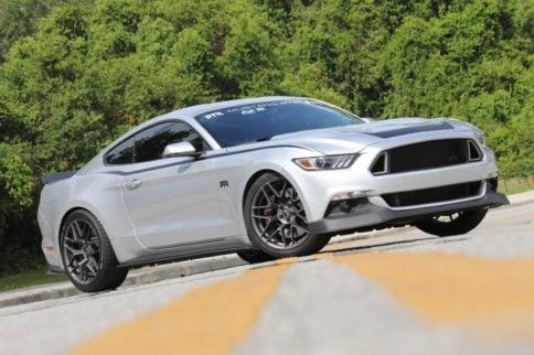 Behind The Wheel Of Vaughn Gittin Jr.'s Mustang RTR