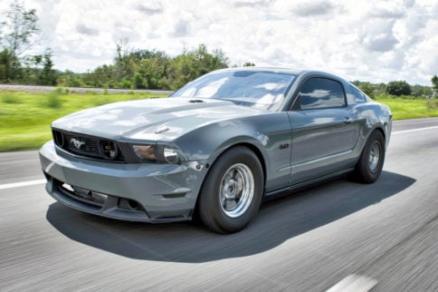 Twin-Turbo Coyote Street 'Stang Cranks Out 1,500 HP
