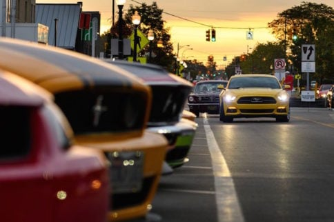 800+ Dream Cruisers Fill Mustang Alley At Woodward