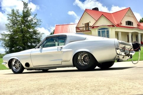 1,800HP, Boss 429-Powered '67 Mustang Up For Sale