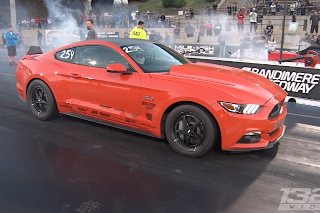 Melissa Urist's 1,500HP Coyote 'Stang Is Back In Action!