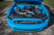 Eye-Grabbing, 1,100-Horsepower Twin-Turbo Mustang
