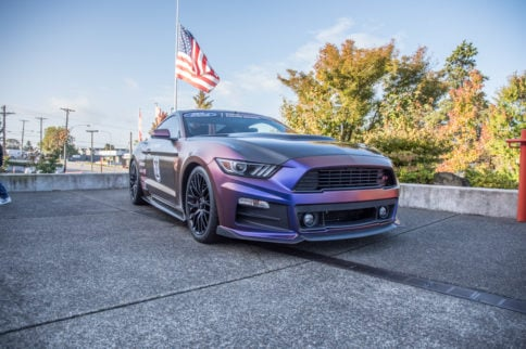 Beautiful, Blown S550 Racer Has A Noble Mission