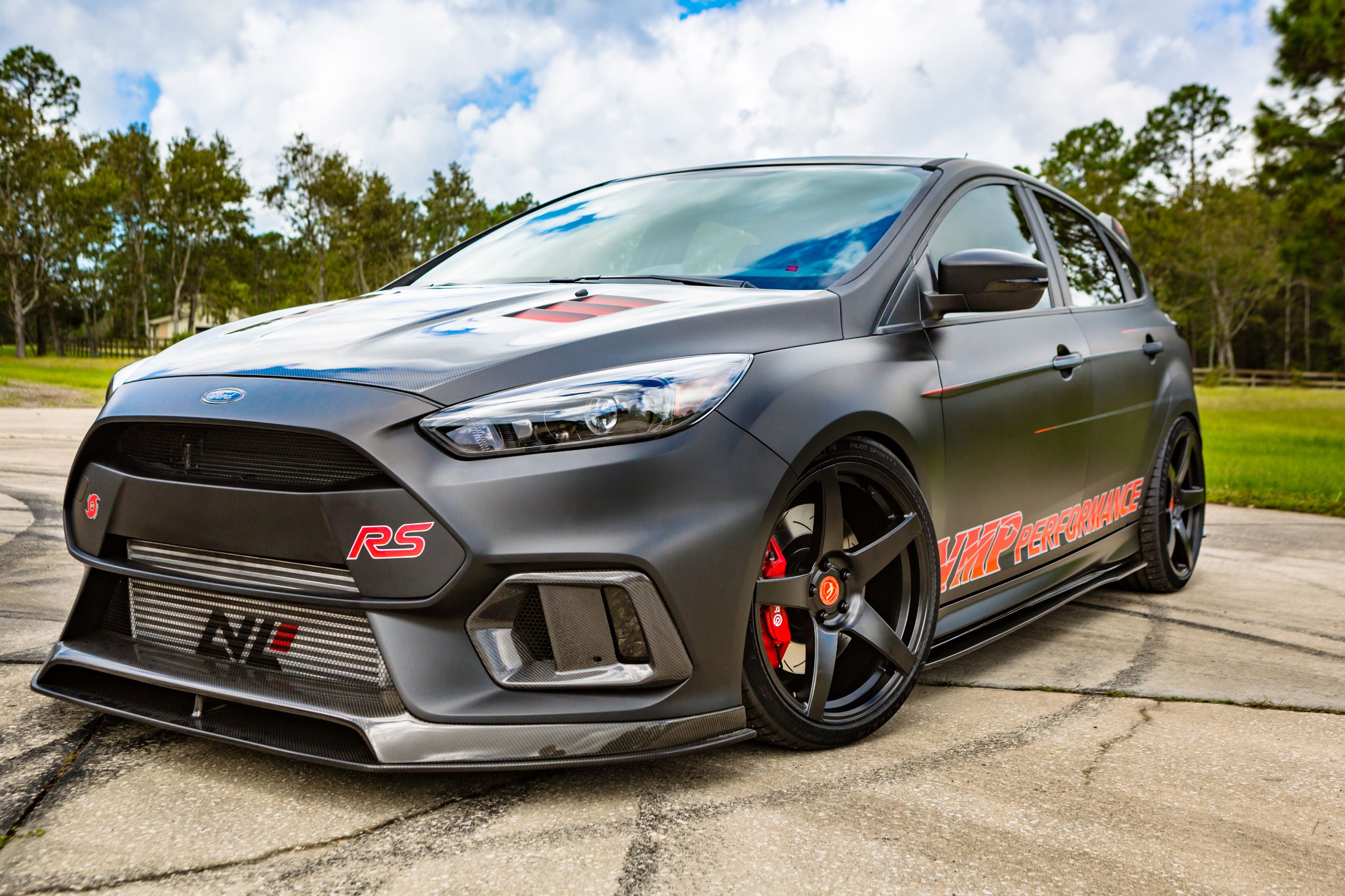 Vmp Performance Turned Ford S Hottest Hatch The Focus Rs Into An All Around Performer Dubbed Triathlete This Hot Features A