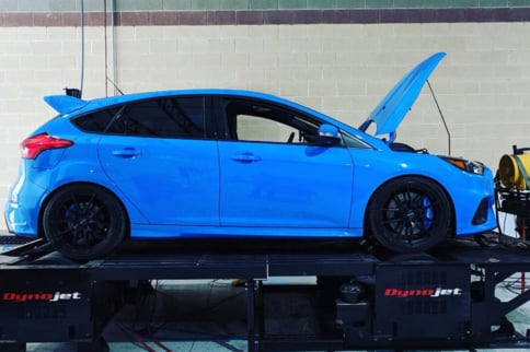 Tuned Focus RS Puts Down 600 HP To The Wheels