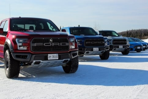 F-150 Raptor & Focus RS Prove Their Winter Prowess