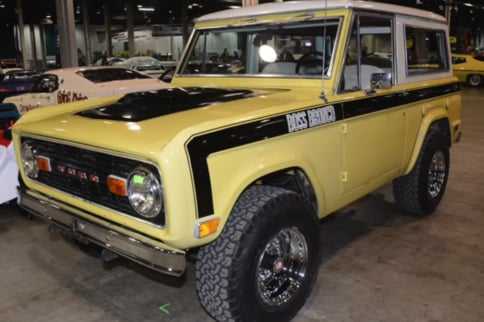 Lost '69 Boss Bronco Prototype Found After 49 Years!
