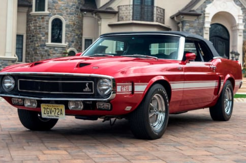Rare Swiss-Export Shelby GT500 Heads To Auction