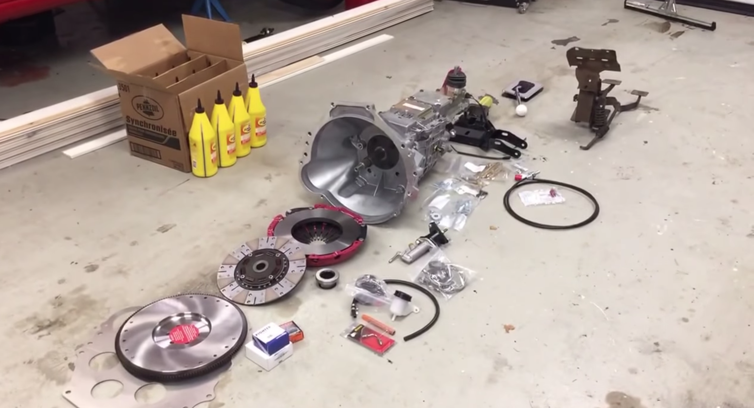 Convert Your Classic To A Manual Trans With This Kit