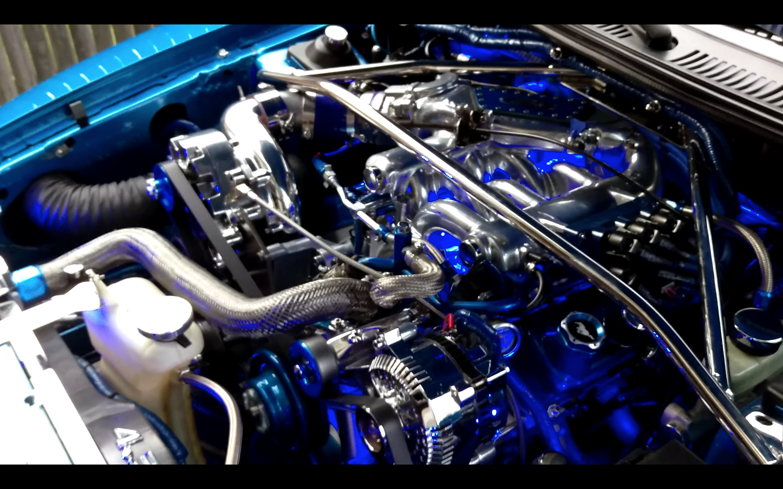 This Blown 1999 Mustang Has An Unusual Engine