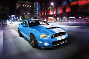 Even A Shelby GT500 Can't Outrun The Law