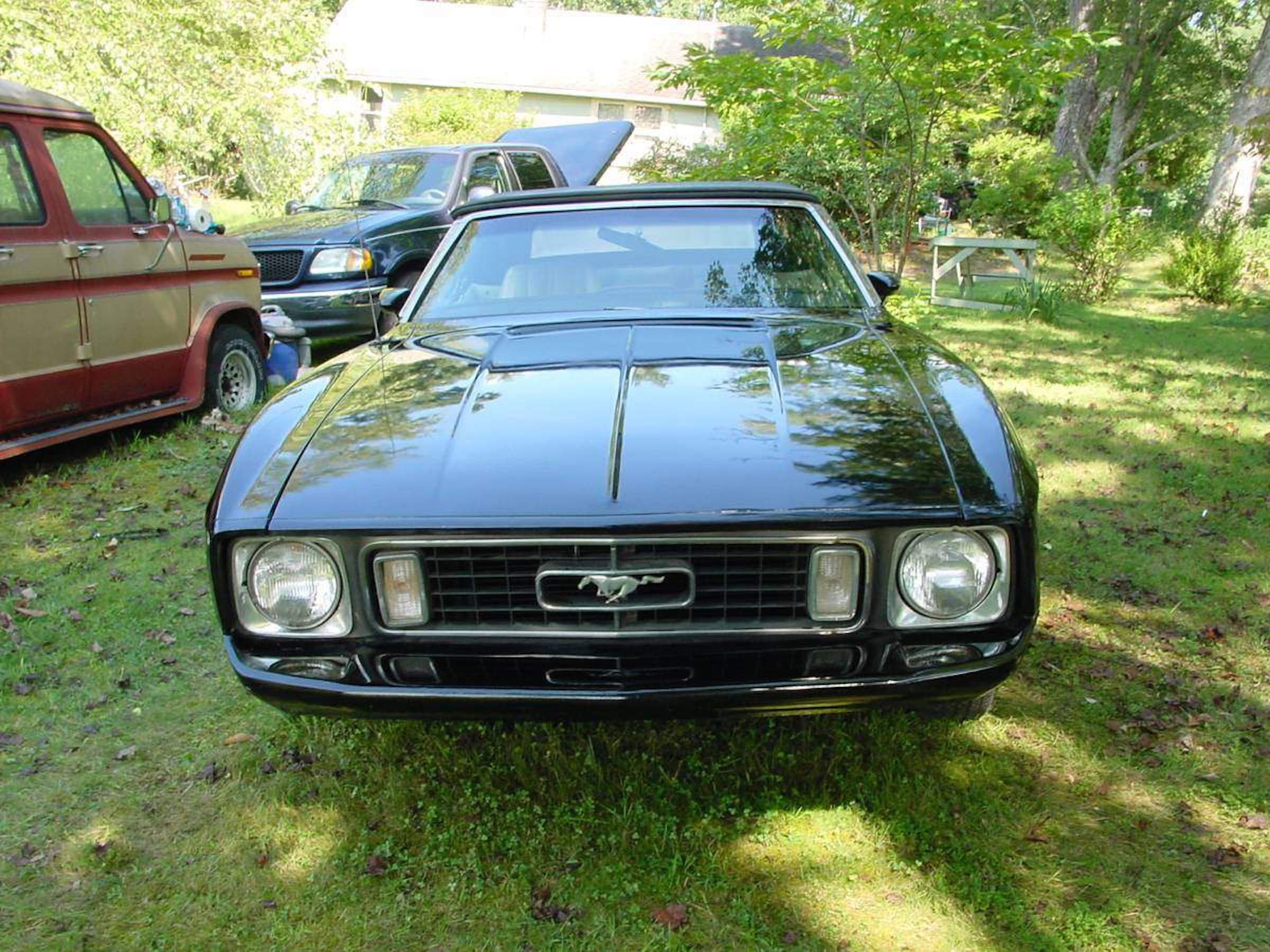 e A Kind 1973 Mustang Headlined A Barn Find Ford Goodness