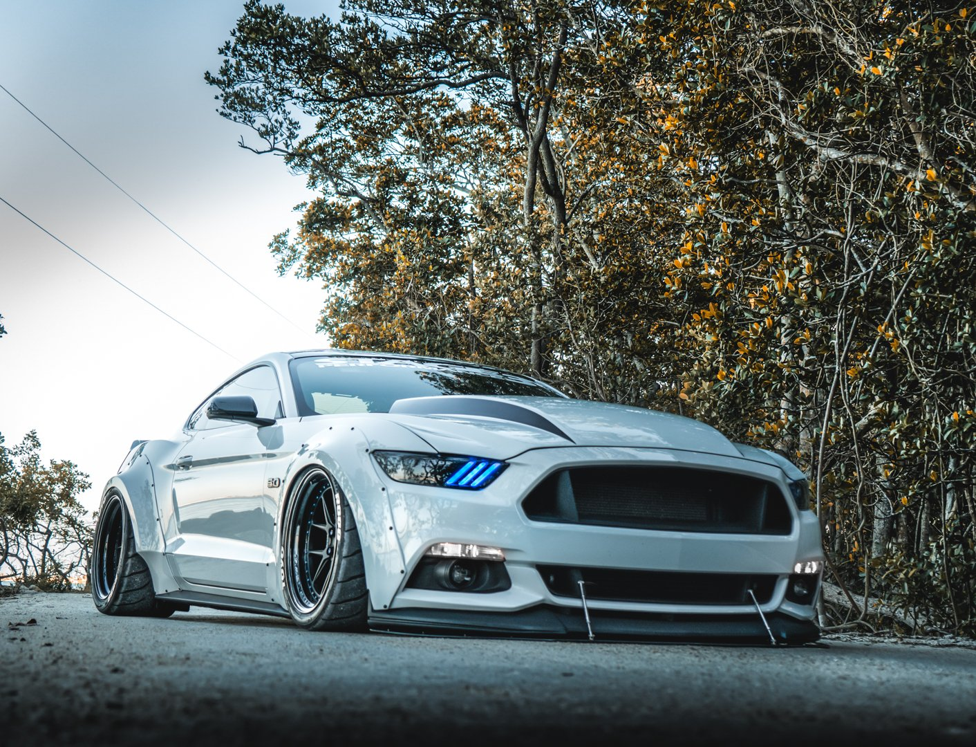 This Widebody S550 Fuses Modern Looks With Supercharged Muscle